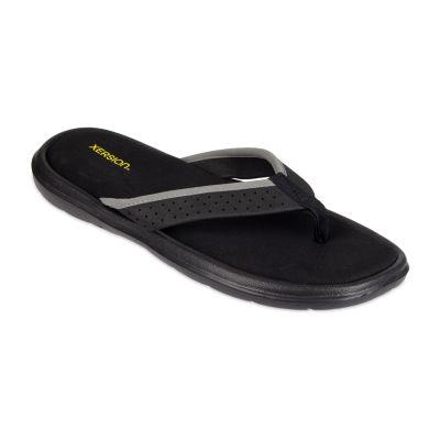 Xersion™ Memory Foam Perforated Strap Flip Flops