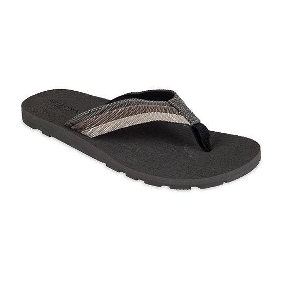 Arizona® Triple Canvas Thong Flip Flops