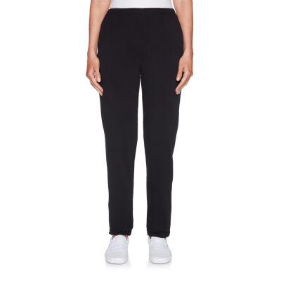 Lark Lane Womens Straight Pull-On Pants