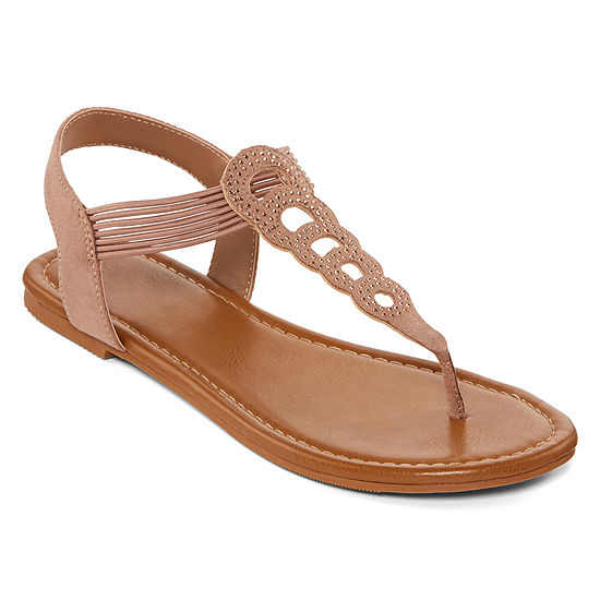 Arizona Womens Gogo Flat Sandals