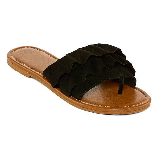 0030527d167d Arizona Womens Georgetown Slide Sandals - JCPenney