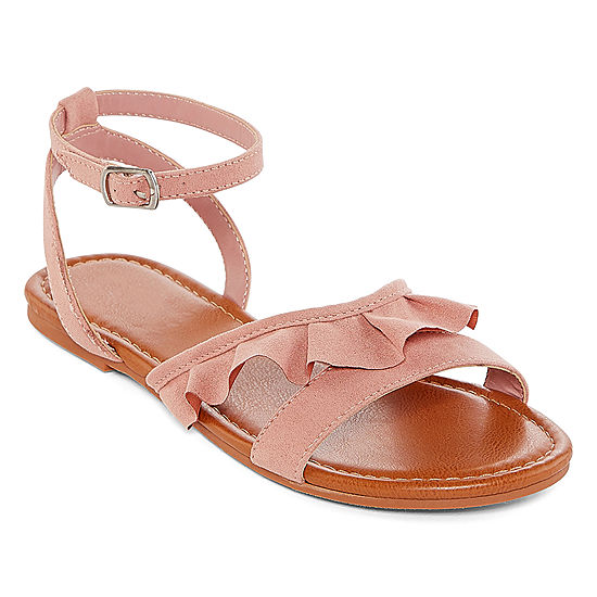 a75725986490 Arizona Womens Graves Adjustable Strap Flat Sandals - JCPenney