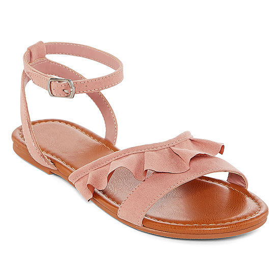 Arizona Womens Graves Adjustable Strap Flat Sandals
