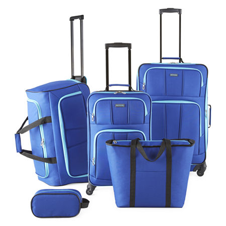Protocol Simmons Sport 5-pc. Luggage Set, One Size , Blue