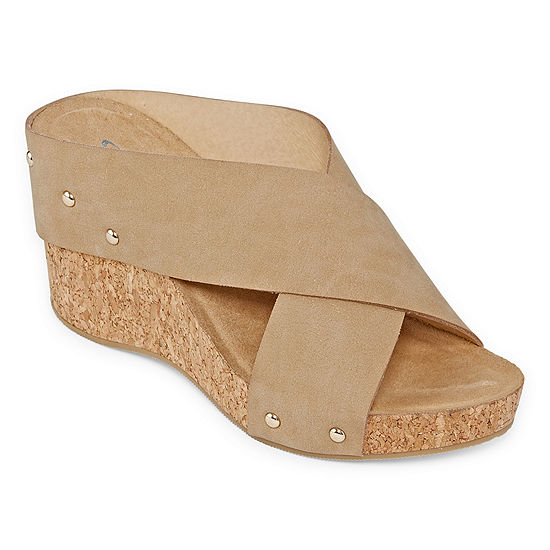 CL by Laundry Womens Aisley Wedge Sandals