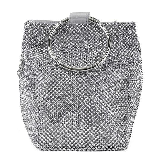 Gunne Sax by Jessica McClintock Gwen Ball Mesh Wristlet Evening Bag