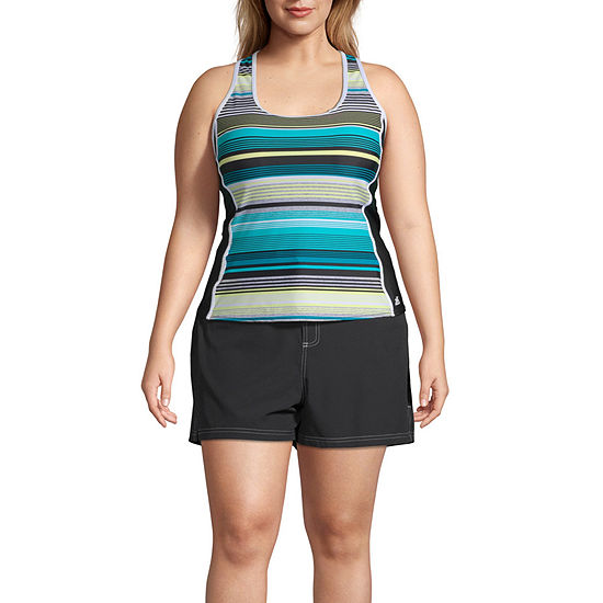 12b5e41c97 Zeroxposur Stripe Tankini Swimsuit Top or Swimsuit Bottom-Plus ...