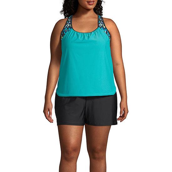 15c1334c0f Zeroxposur Blouson Swimsuit Top or Swimsuit Bottom-Plus - JCPenney