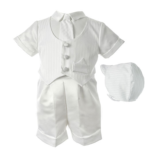 Keepsake Christening Short Set Baby Boys 2-pc. Suit Set