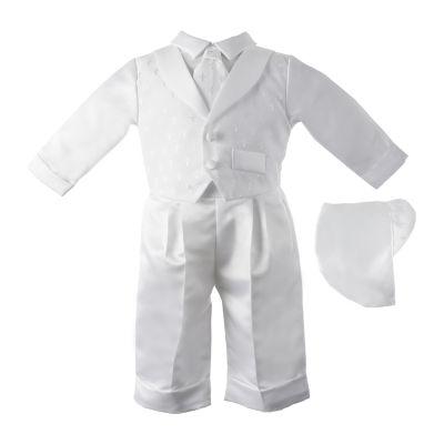 Keepsake Christening 2-pc. Pant Set Baby Boys