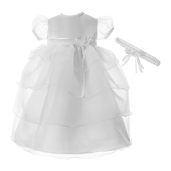 Keepsake Baby Girls 2-pc. Embellished Short Sleeve Cap Sleeve A-Line Dress