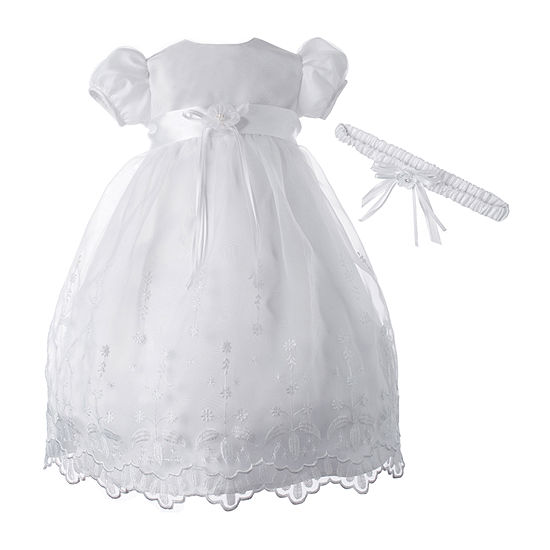 Keepsake 2-pc. Girls Short Sleeve Cap Sleeve A-Line Dress - Baby