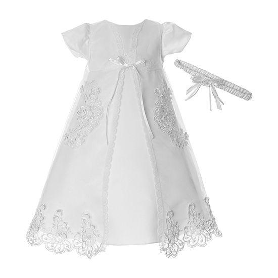 Keepsake 2-pc. Girls Short Sleeve Drop Shoulder Sleeve A-Line Dress - Baby