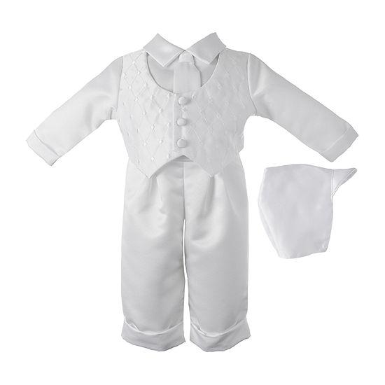 Keepsake Christening Pant Set Baby Boys 2-pc. Pant Set