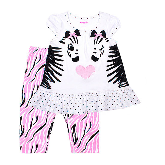 Nanette Baby 2 Pc Legging Set Toddler Girls