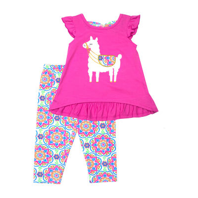 Nanette Baby 2-pc. Legging Set-Toddler Girls