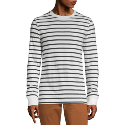 Peyton & Parker Mens Crew Neck Long Sleeve T-Shirt