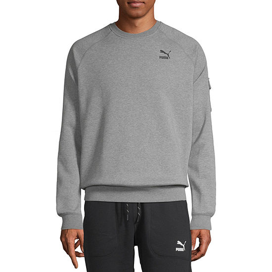 Puma Mens Crew Neck Long Sleeve Sweatshirt