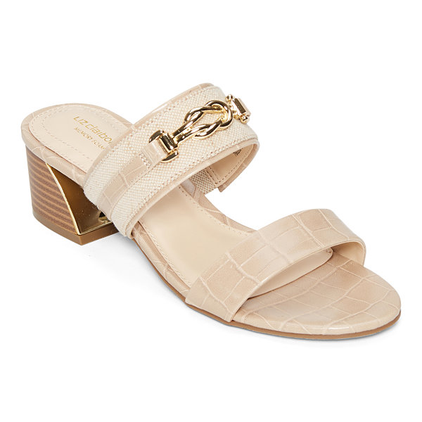 Liz Claiborne Womens Cade Heeled Sandals