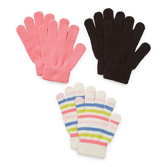 Arizona Little & Big Girls Cold Weather Gloves