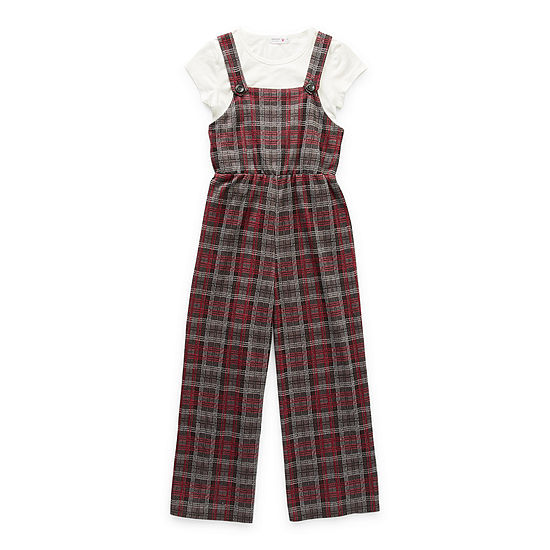 Knit Works Big Girls 2-pc. Jumpsuit Set