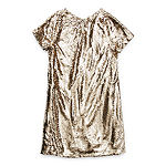 Trixxi Girl Sequin Little & Big Girls Short Sleeve Cap Sleeve Shift Dress
