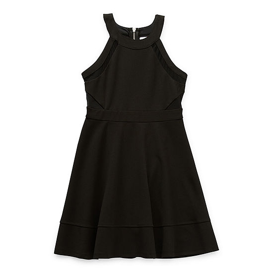 Emerald Sundae Big Girls Sleeveless A-Line Dress