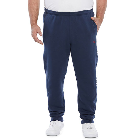 U.S. Polo Assn. Mens Regular Fit Jogger Pant - Big and Tall