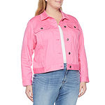 St. John's Bay Midweight Denim Jacket-Plus