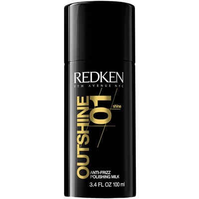 Redken Outshine 01 Anti-Frizz Polishing Milk - 3.4 oz.