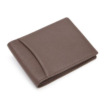 Royce® RFID Blocking Leather Bifold Wallet