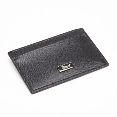 Royce® Saffiano Leather Slim Card Case Wallet