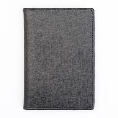 Royce® Saffiano Leather Passport Document Wallet
