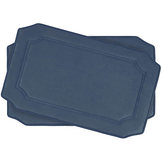 "Bounce Comfort Walden Memory Foam 17x24"" 2-pc. Bath Mat Set"