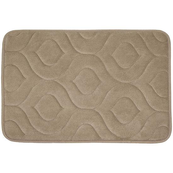 Bounce Comfort Naoli Memory Foam Bath Mat