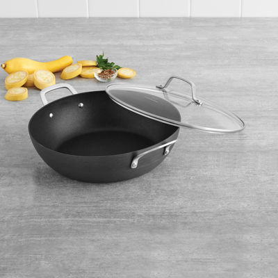 "Calphalon® Classic Hard-Anodized Nonstick 12"" All-Purpose Pan with Lid"