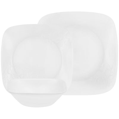 Corelle® Boutique™ Cherish 16-pc. Square Dinnerware Set  sc 1 st  JCPenney & Corelle Boutique Cherish 16 pc Square Dinnerware Set