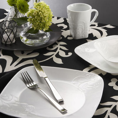 Corelle® Boutique™ Cherish 16-pc. Square Dinnerware Set