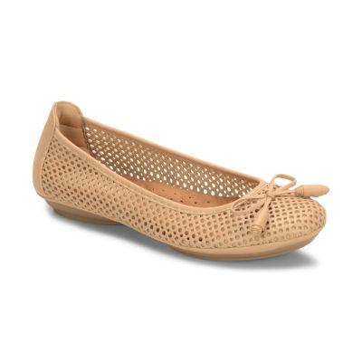 Eurosoft Womens Sarno Ballet Flats Slip-on Round Toe