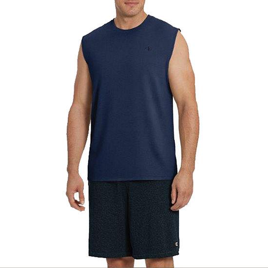 Champion Classic Jersey Mens Crew Neck Sleeveless Muscle T-Shirt