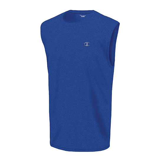 Champion Classic Jersey Mens Crew Neck Sleeveless Muscle T-Shirt