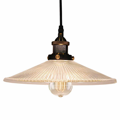 Warehouse Of Tiffany Shiloh Adjustable Height 1-light Edison Lamp with Bulb