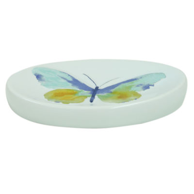 Bacova Guild Watercolor Garden Soap Dish