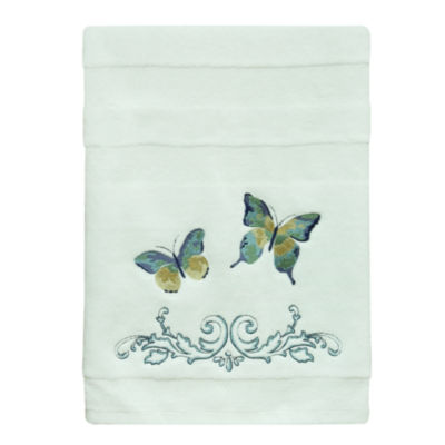 Bacova Guild Watercolor Garden Bath Towel Collection