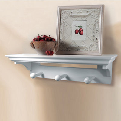 Inplace Wall Shelf With Pegs