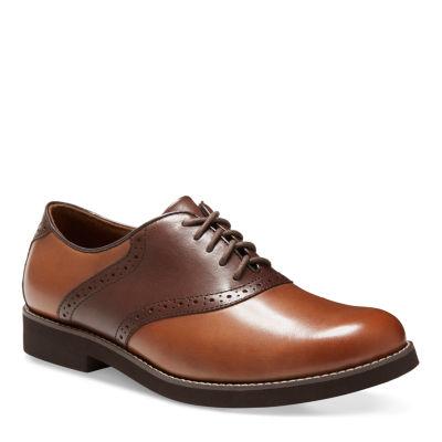 Eastland Mens Saddleback Oxford Shoes Lace-up Round Toe