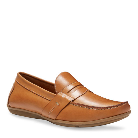 Eastland Mens Pensacola Round Toe Slip-on Loafers