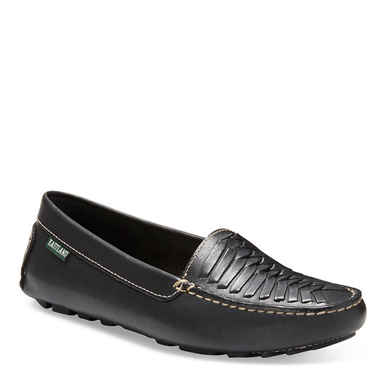 Eastland Womens Debora Round Toe Slip-on Loafers