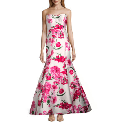 B. Darlin Strapless Fitted Gown-Juniors