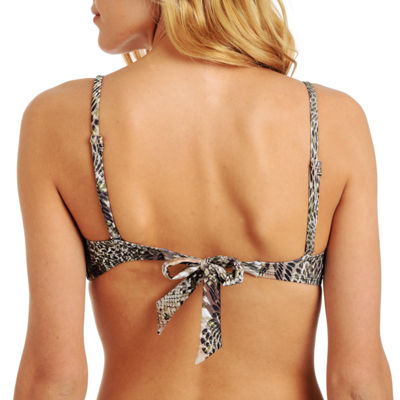 Cyn & Luca Animal Bra Swimsuit Top